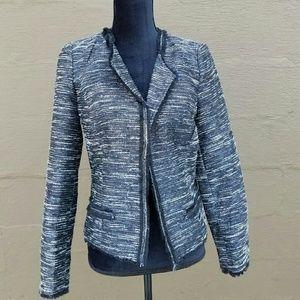 Laundry by Shelli Segal metallic blazer size 8