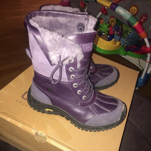 purple adirondack uggs