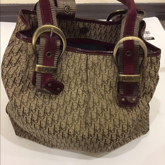 Christian Dior Handbags - 🚩sale🚩Christian Dior handbag authentic 2f9376aa081b9