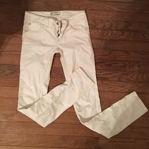 Free people white jeans size 25
