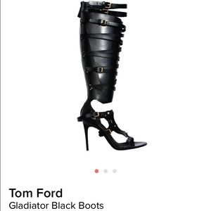 Tom Ford Shoes - 💥 HOST PICK 💥💥 Tom Ford Gladiator Cage Boots