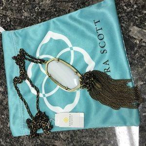 Kendra Scott antique Brass Rayne Necklace