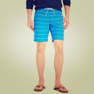 "J. Crew Other - J Crew navy stripe board shorts. 9"""