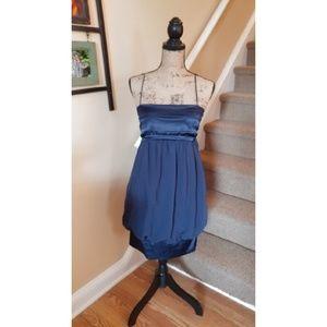Navy Blue Zara Bubble Dress