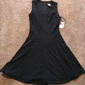 Just Taylor Nordstrom dress black sparkle glitter