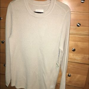 PacSun Other - Tan extended long length modern amusement sweater