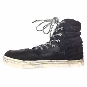 ALL SAINTS LEATHER & SUEDE DISTRESSED HIGH TOPS!!