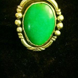 Navajo turquoise ring Pawn!!
