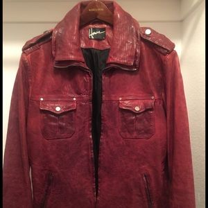 Howe Other - MEN'S HAUSE OF HOWE LEATHER JACKET