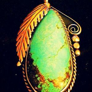 Updated Photo, Turquoise Pendant!!