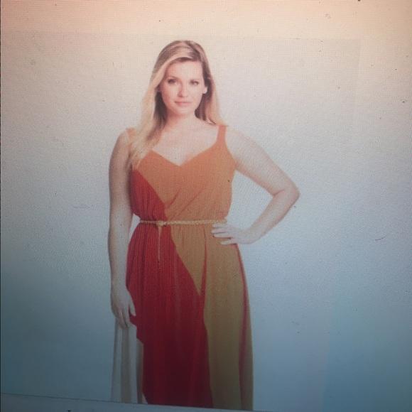 Calvin Klein Dresses Plus Size Colorblock Dress Poshmark