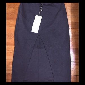 Nasty Gal Dresses & Skirts - Dark grey pencil skirt