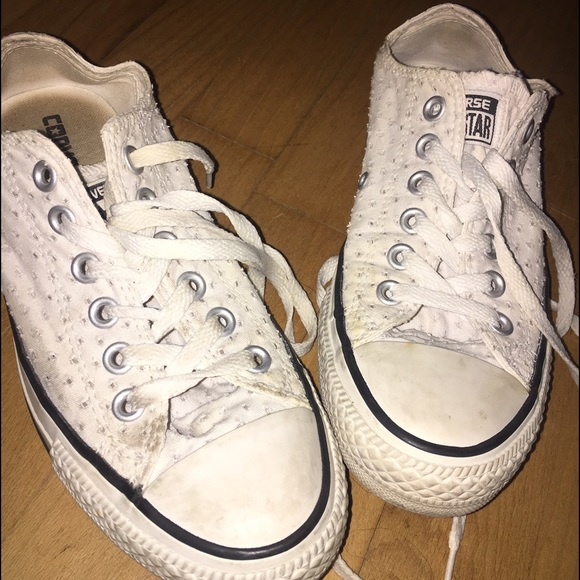 Converse Shoes | White Eyelet Lace