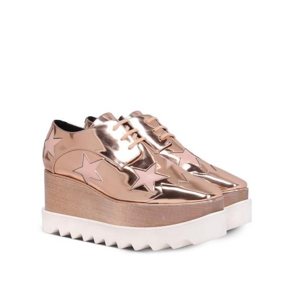 Stella McCartney Shoes - Stella McCartney Copper Elyse Star Shoes