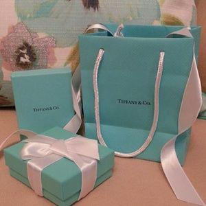 Tiffany & Co. Jewelry - Tiffany & Co Boxes, Bag & Ribbons set