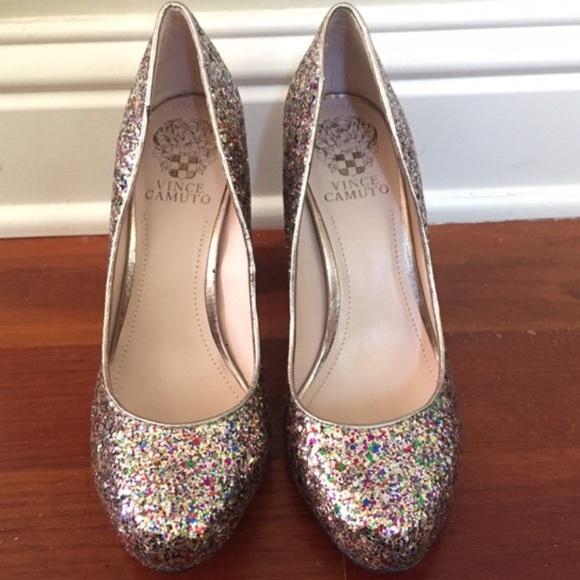 3ca5b2980d FINAL Vince Camuto Vasili Glitter Pump Heels Shoes.  M_585bdf122599fe6a3b002362
