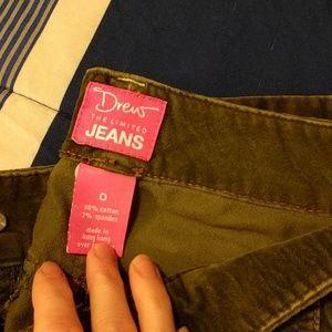 DREW Pants - Army Green Velvet Pants