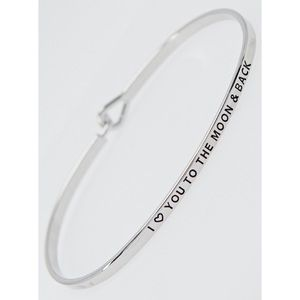 """Hannah Beury Jewelry - """"I love you to the moon & back"""" Bracelet"""
