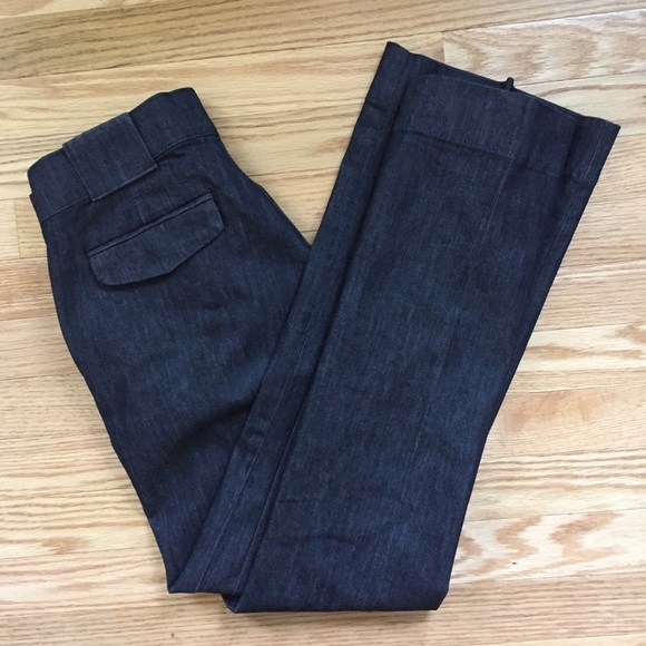 441100579b9 Lee No GAP Waistband Black Trouser Jeans