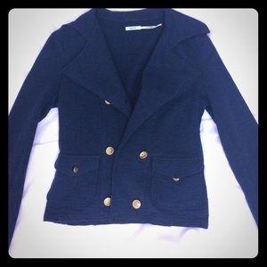 Kimchi blue knit navy blazer