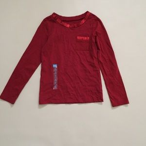 Children's Place Other - Girls Children's Place sequin red long sleeve