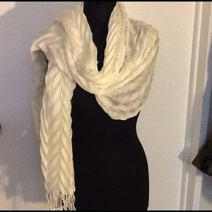 Collection XIIX Accessories - Off White Scarf / Wrap