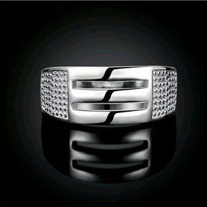 Moda Ragazza  Jewelry - ⭐NEW! Stunning CZ 925 Silver Ring Size 7