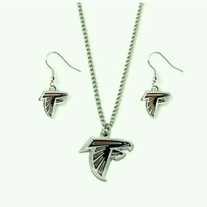 Jewelry - Falcons necklace and earring set