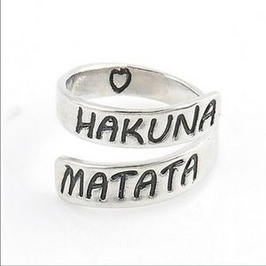 Jewelry - Hakuna Matata Adjustable Wrap Ring