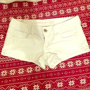 American Eagle Outfitters Pants - White American Eagle stretch shorts