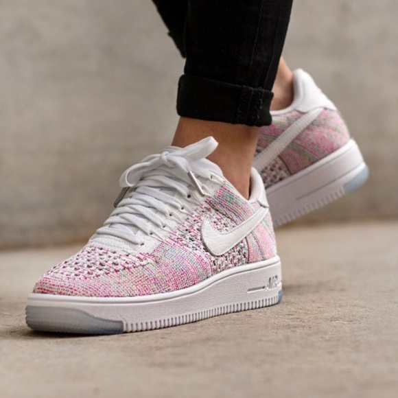 the best attitude 5677c b6480 Nike Air Force 1 Flyknit low shoes NWT