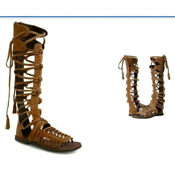 aa4d1d183f7 Free People Shoes - FREE PEOPLE Sunseeker Gladiator Sandals Shoes