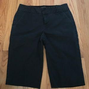Club Monaco Pants - Club Monaco Bermuda pants black 4