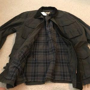J.crew Barbour style jacket