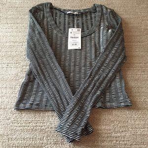 Zara Striped Long Sleeve.