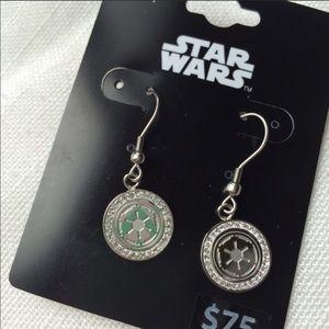 NWT Star Wars Earrings