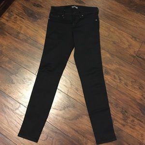 Express black jean leggings