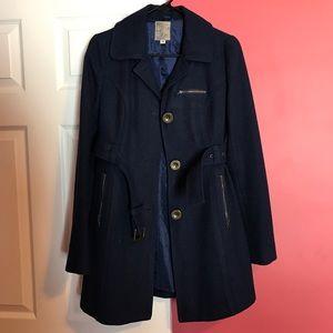 Tulle Jackets & Blazers - 💓SALE💓 Navy Blue Wool Pea Coat
