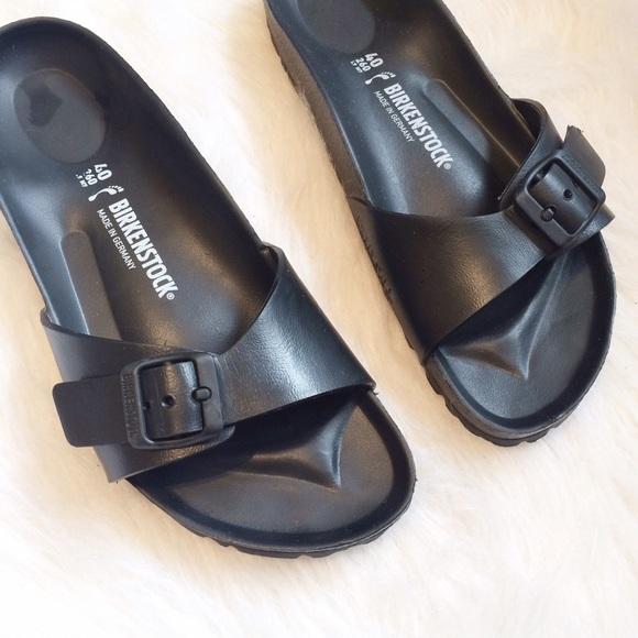 online shop buy best run shoes Birkenstock Shoes | Black Rubber Sandals | Poshmark