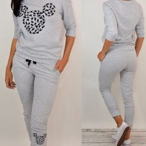  SALE  CUTE  2 PCS TRACKSUIT SWEATSHIRT PANTS