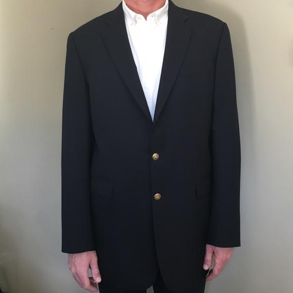 Burberry Suits & Blazers   Mens Navy Blazer Size 44 Extra Long ...
