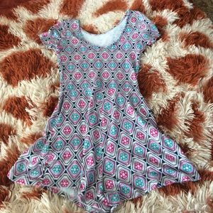 Other - Patterned romper cap sleeve style