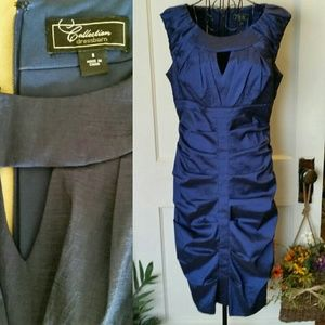 Dress Barn Collection Dresses Dress Barn Collection Navy Holiday Dress 68 Poshmark