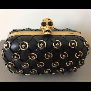 Alexander McQueen Handbags - Alexander McQueen Skull Clutch
