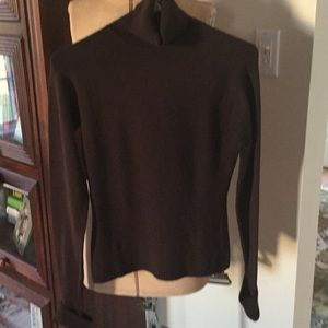 Inc brown sweater. Size S
