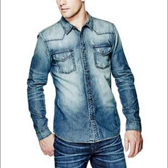 492dfde0cd Lucky Brand Other - Holiday sale Lucky brand men s denim shirt medium