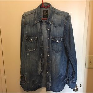 3edad6734c Lucky Brand Shirts - Holiday sale Lucky brand men s denim shirt medium