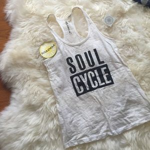 SOULCYCLE workout tank - comes with SOULCYCLE bag
