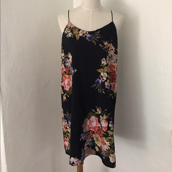 2d13549a77 Floral tank dress