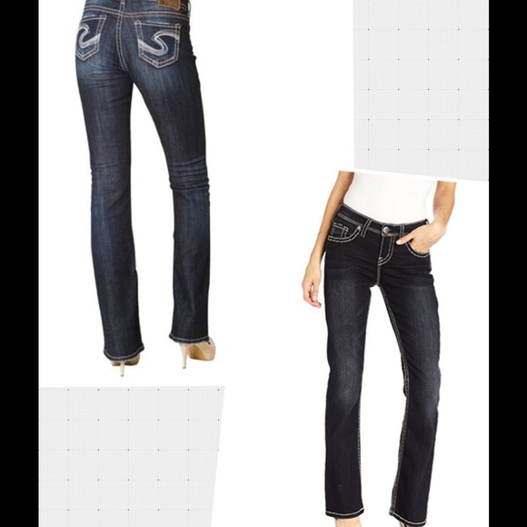68% off Silver Jeans Denim - Natsuki Silver Jeans Co., boot cut ...